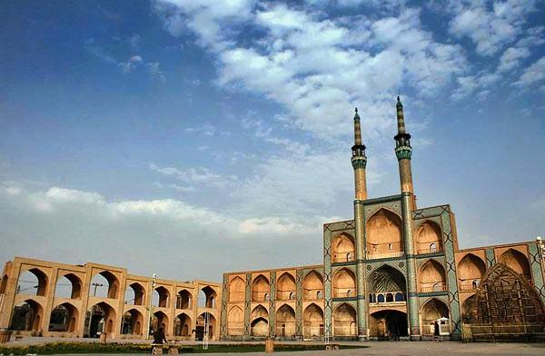 امیرچخماق یزد | نگین شهر یزد