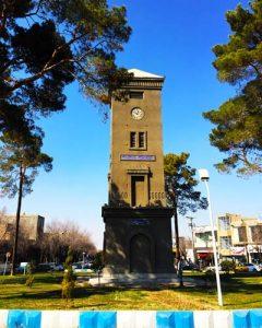 میدان ساعت-یزد