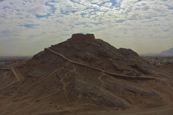 دخمه زرتشتیان یزد - جایگاه ابدی جسم