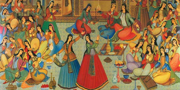 جشن مهرگان - آیین زرتشتیان یزد