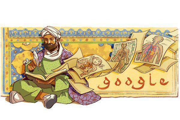 روز ابوعلی سینا در گوگل بدون ذکر نام ایران
