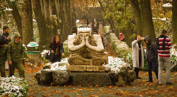 پارک جمشیدیه - زیباترین پارک سنگی
