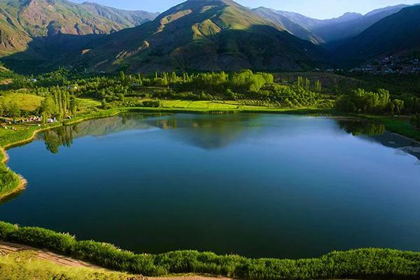 دریاچه اُوان قزوین