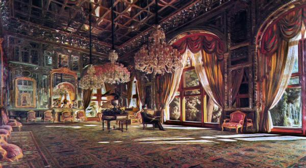 کاخ گلستان تلفیقی از هنر و معماری ایرانی و اروپایی