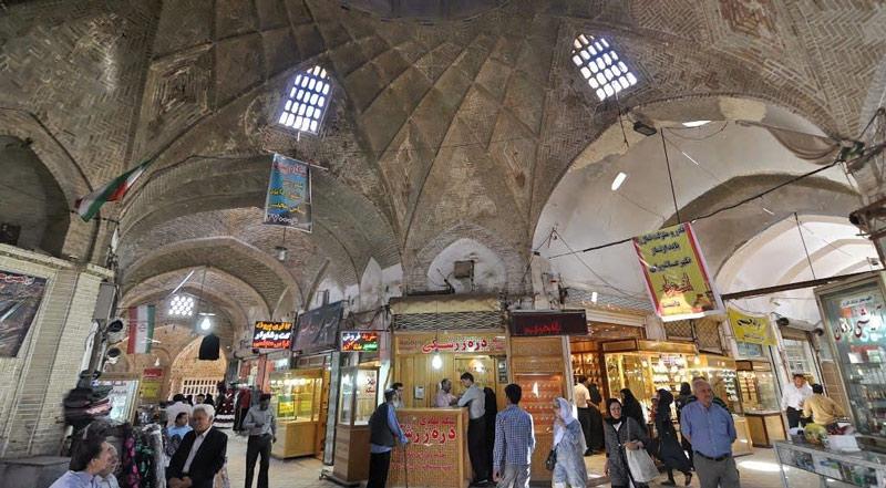 بازار خان یزد