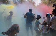 جشنواره رنگها در روستای گرجی مازندران