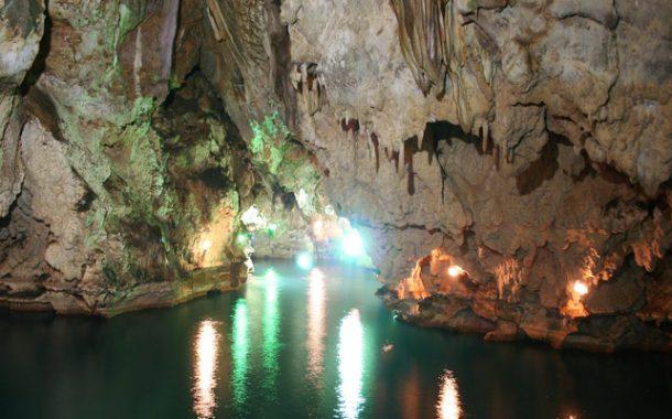 غار سهولان - دومین غار بزرگ آبی ایران