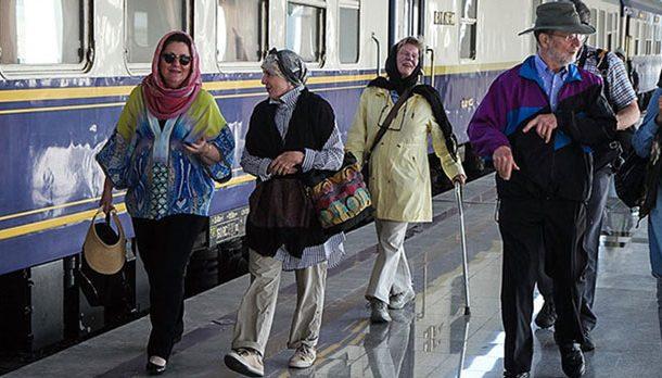 راه اندازی نخستین ایستگاه قطار گردشگری راه ابریشم با نام فارس