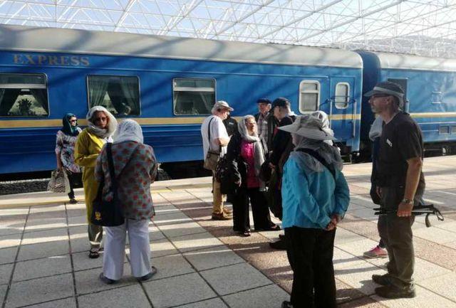 ایستگاه قطار گردشگری راه ابریشم