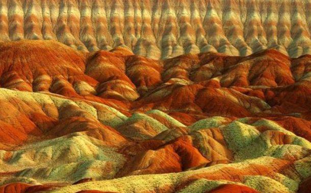 تپه های مریخی دامغان در ناسا ثبت شدند
