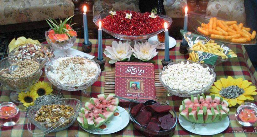 یلدا در شهرهای مختلف ایران