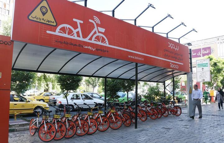 خیابان کریمخان - دوچرخه